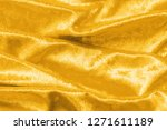 gold velvet background or... | Shutterstock . vector #1271611189