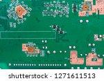 electronic circuit board | Shutterstock . vector #1271611513