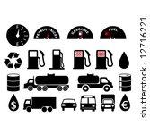 oil related pack   also... | Shutterstock .eps vector #12716221