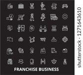 franchise business editable... | Shutterstock .eps vector #1271643610