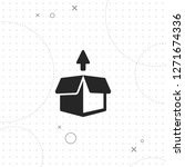 out of the box icon  vector...   Shutterstock .eps vector #1271674336
