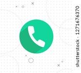 phone icon  vector best flat...   Shutterstock .eps vector #1271676370