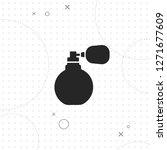 perfume bottle icon  vector...   Shutterstock .eps vector #1271677609