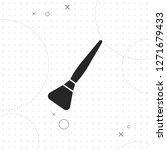 powder brush icon  vector best...   Shutterstock .eps vector #1271679433