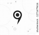 pin map icon  vector best flat...   Shutterstock .eps vector #1271679616