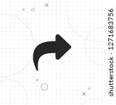 return arrow vector best flat... | Shutterstock .eps vector #1271683756