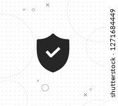 protection  shield vector best... | Shutterstock .eps vector #1271684449