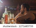 its always better to drink in... | Shutterstock . vector #1271685733