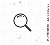 search icon  vector best flat... | Shutterstock .eps vector #1271686720