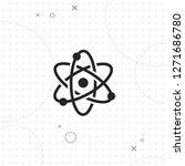 science icon  atom icon  vector ... | Shutterstock .eps vector #1271686780