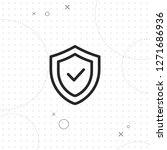 safety  security vector best... | Shutterstock .eps vector #1271686936