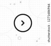 right button  vector best line... | Shutterstock .eps vector #1271686966