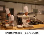 Chefs competitions - stock photo