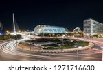 valencia roundabout night... | Shutterstock . vector #1271716630