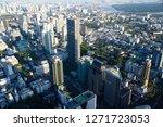 top view cityscape skyscraper    Shutterstock . vector #1271723053