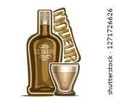 illustration of alcohol drink...   Shutterstock . vector #1271726626