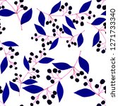 creative seamless pattern with... | Shutterstock . vector #1271733340