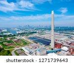modern urban wastewater...   Shutterstock . vector #1271739643