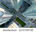 aerial view of residential... | Shutterstock . vector #1271739730