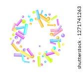 sprinkles grainy. sweet...   Shutterstock .eps vector #1271741263