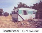 Vintage Broken Down Rv Camper...