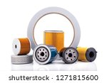auto parts accessories    oil   ... | Shutterstock . vector #1271815600
