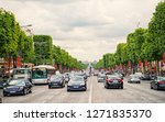 paris  france   june 02  2017 ... | Shutterstock . vector #1271835370