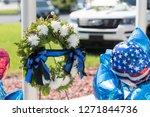 law enforcement police officer... | Shutterstock . vector #1271844736