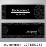 native header invitation vector   Shutterstock .eps vector #1271851363