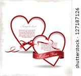 love background   Shutterstock .eps vector #127187126