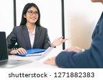 business situation  job...   Shutterstock . vector #1271882383