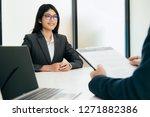 business situation  job...   Shutterstock . vector #1271882386