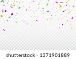 white background with colorful... | Shutterstock .eps vector #1271901889
