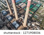 aerial view of thermal power...   Shutterstock . vector #1271908036