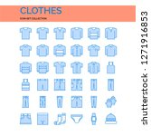 clothes icons set. ui pixel...