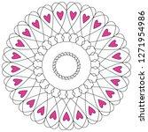 love circle ornament   Shutterstock .eps vector #1271954986