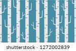 repeatable tile winter trees on ...   Shutterstock .eps vector #1272002839
