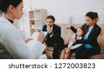 family in bussiness clothers....   Shutterstock . vector #1272003823