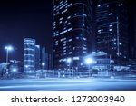 urban nightscape and vague car... | Shutterstock . vector #1272003940