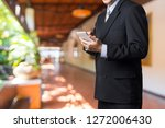 male executive or businessman... | Shutterstock . vector #1272006430