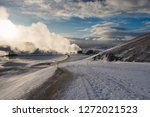 steam  vapour  blue skies and... | Shutterstock . vector #1272021523