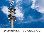 360 Degree Dome Cctv Pole On...