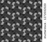 abstract vector monochrome...   Shutterstock .eps vector #1272032020