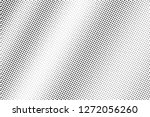 micro dotted texture. black and ... | Shutterstock .eps vector #1272056260