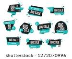 modern banner sale set eps 10... | Shutterstock .eps vector #1272070996