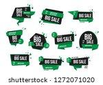 modern banner sale set eps 10... | Shutterstock .eps vector #1272071020