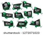 modern banner sale set eps 10... | Shutterstock .eps vector #1272071023