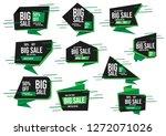 modern banner sale set eps 10... | Shutterstock .eps vector #1272071026
