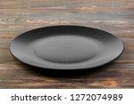 perspective view. empty black... | Shutterstock . vector #1272074989