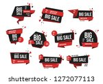 modern banner sale set vector...   Shutterstock .eps vector #1272077113